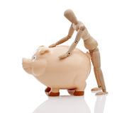 Piggy Bank Financial Management Royalty Free Stock Photo