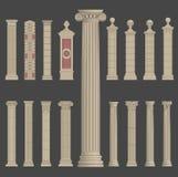 Pillar column roman greek architecture Stock Image