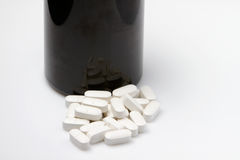 Pills with dose Stock Photo
