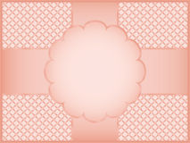 Pink gift wrapper Royalty Free Stock Images