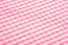 Pink Gingham Background Royalty Free Stock Photos