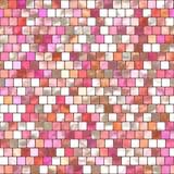 Pink Mosaic Tiling Royalty Free Stock Image