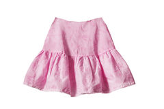 Pink skirt Royalty Free Stock Images