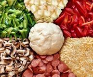 Pizza Recipe Stock Image