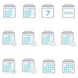 Planner Calendar Stock Photos