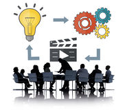 Planning Ideas Creativity Inspiration Thoughts Multimedia Concep Stock Images