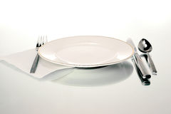 Plate setting Stock Photography