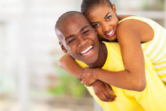 Playful african couple Stock Photography