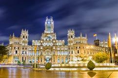 Plaza de Cibeles, Madrid, Spagna Immagine Stock
