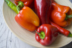 Plenty of bell peppers Stock Image