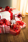 Plenty of gifts Royalty Free Stock Photo