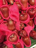 Plenty of rose apple for sale Royalty Free Stock Image