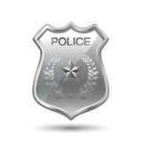 Police Badge Royalty Free Stock Photography