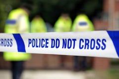 Police crime scene Royalty Free Stock Image