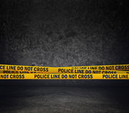 Police Line Do Not Cross Stock Photography