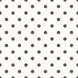 Polka dot seamless pattern background Royalty Free Stock Photos