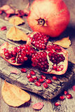 Pomegranate (toning) Royalty Free Stock Photography
