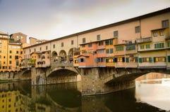 Ponte Vecchio in Florenz Lizenzfreies Stockfoto
