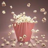 Popcorn Flying Royalty Free Stock Photography