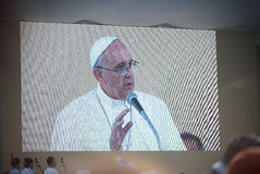 Pope Francis Royalty Free Stock Photography