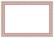 Popular motif, pattern, regular motif, tablecloth Royalty Free Stock Images