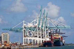 Port Cranes Stock Images