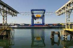 Port Logistics Stock Photography