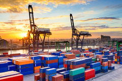 Port in Morocco Stock Photos
