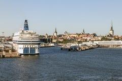 Port of Tallinn Estonia Stock Photos