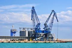 Port terminal Balchik Stock Photo