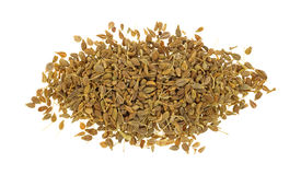 Portion of anise seeds Royalty Free Stock Images