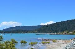 Portone Australia delle isole di Pentecoste della spiaggia di Airlie Fotografie Stock