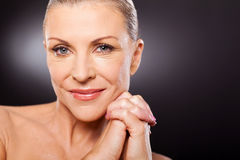 Mid age woman Stock Photography