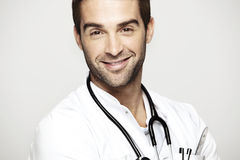 Portrait of mid adult doctor Royalty Free Stock Photo
