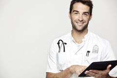 Portrait of mid adult doctor Royalty Free Stock Photos