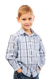 Portrait of  smiling kid Royalty Free Stock Images