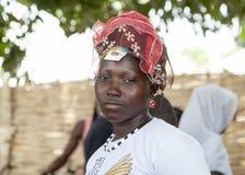 Portret van een Afrikaans meisje Stock Afbeeldingen