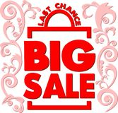 Poster Big sale. Last chance Stock Photography
