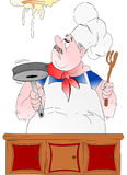 Poultice cook! Stock Photo