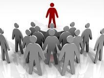 Povos principais do líder Imagens de Stock