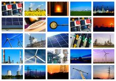 Power and energy concepts Royalty Free Stock Photos