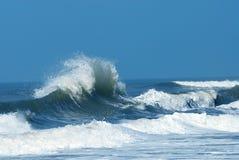 Powerful Crashing Wave Stock Image