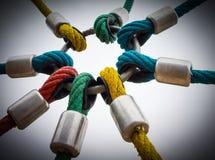 Powerful links Stock Image