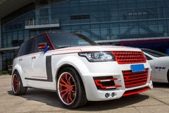 Powerful SUV Royalty Free Stock Photos