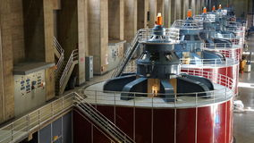 The Powerplant at the Hoover Dam in Nevada Royalty Free Stock Images