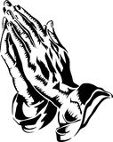Praying Hands/eps Stock Photography