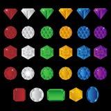 Precious gem stones Stock Photo