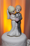 Precious Moments Wedding Cake Topper Royalty Free Stock Image