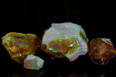 Precious opal Royalty Free Stock Images