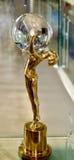 Premio internazionale di festival cinematografico di Karlovy Vary Fotografia Stock